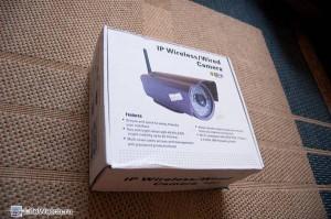 Коробка из под камеры (почему то с фотографией другой камерой на крышке)