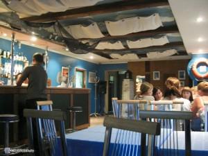 Кафе около гостиницы