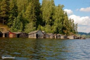 Ладожское озеро. Гаражи