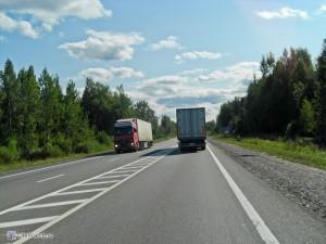 Дорога Москва - Санкт Петербург