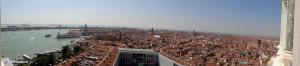 Панорама Венеции с колокольни