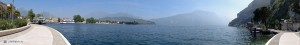 Панорама озера Гарда возле Рива дель Гарда