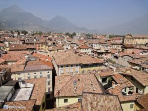 Крыши домов в Рива дель Гарда