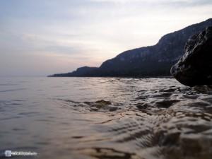 Закат. Озеро Гарда
