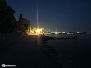 Вечер. На берегу о.Гарда