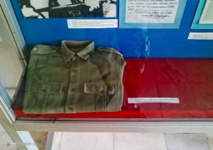 Рубашка Ф.Кастро в музее Революции