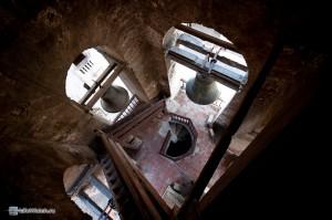 Лестница на колокольне Кафедрального собора. Гавана