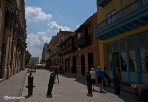Одна из улиц в Старой Гаване