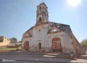Разрушенная церковь Santa Ana
