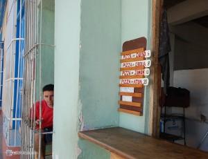 Уличное кафе. Тринидад
