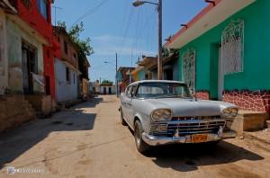 Американский автомобиль Rambler. Куба, Тринидад.