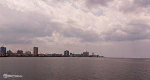 Гавана. Вид с Малкона на новую часть города.