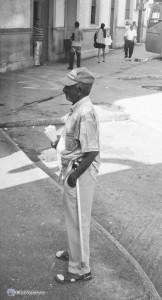 Уличный торговец в Матансасе