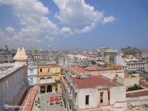 Вид на Гавану со смотровой площадки.