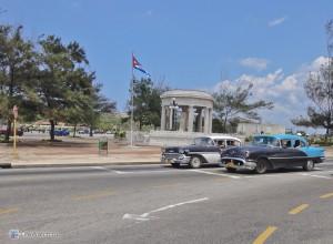 Гавана. Пересечение Прадо и Малекона
