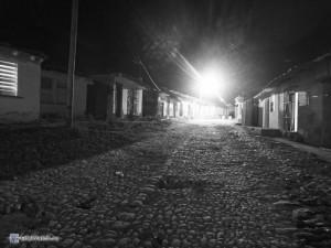 Ночная мостовая в Тринидаде