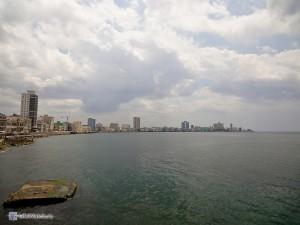 Набережная Гаваны в сторону ведадо